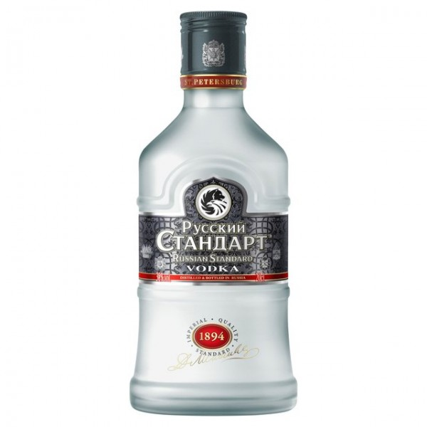 PETACA VODKA RUSSIAN STANDARD 0.20 L. - Vodka de Rusia