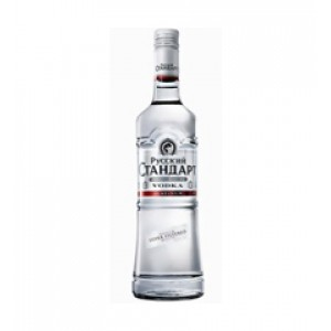 VODKA RUSSIAN STANDARD PLATINUM 0.50 L. - Vodka de Rusia