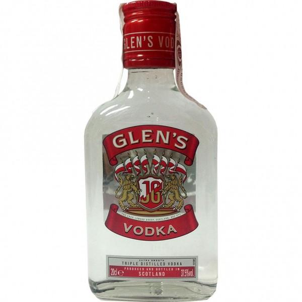PETACA VODKA GLENS 0,20 L. - Vodka