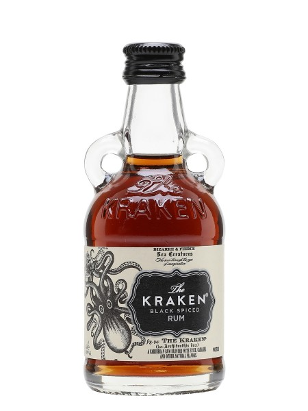 MINIATURA RON KRAKEN BLACK SPICED