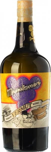 VERMUT MUNTANER BLANCO 0.75L. - Vermouth Artesanal