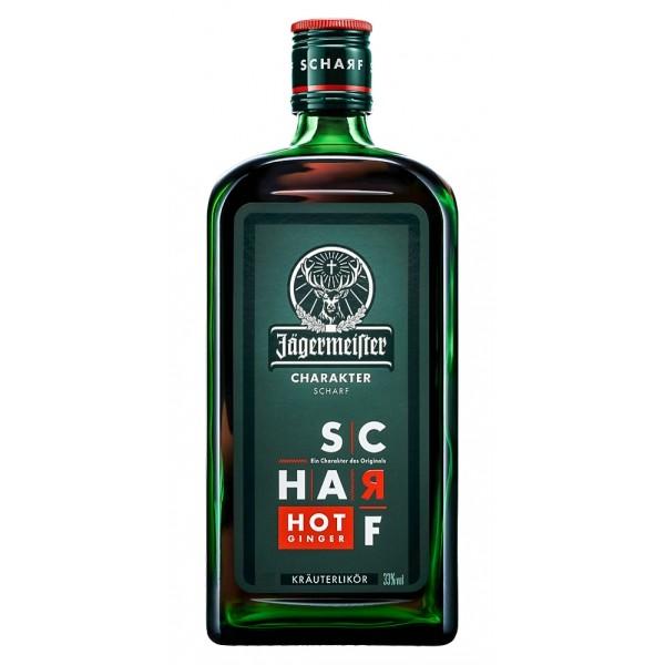 JAGERMEISTER SCHARF HOT GINGER 0.70 L. - Licor