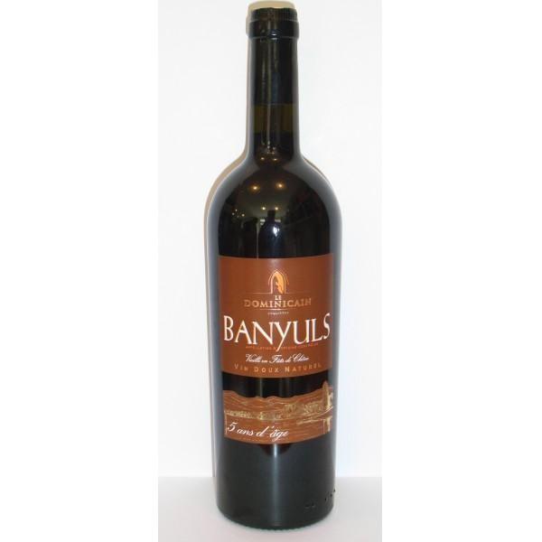 BANYULS LE DOMINICAIN 3 ANS DAGE - Banyuls