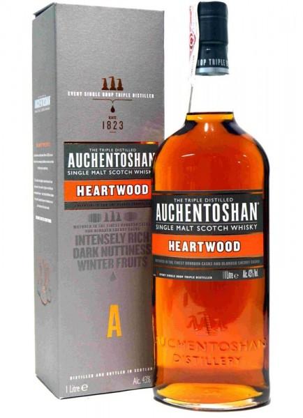 AUCHENTOSHAN HEARTWOOD 1L. - Malt Whisky