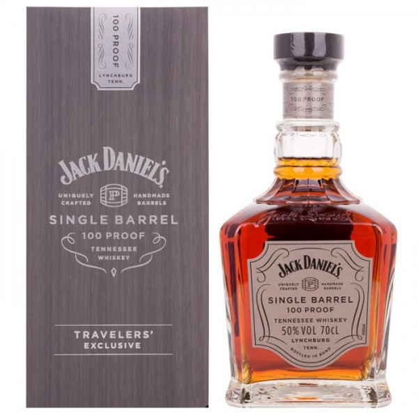 JACK DANIELS SINGLE BARREL 100 PROOF 0.70 L.