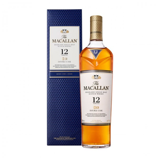 MACALLAN 12 AÑOS DOUBLE CASK 0.70 L. - Malt Whisky