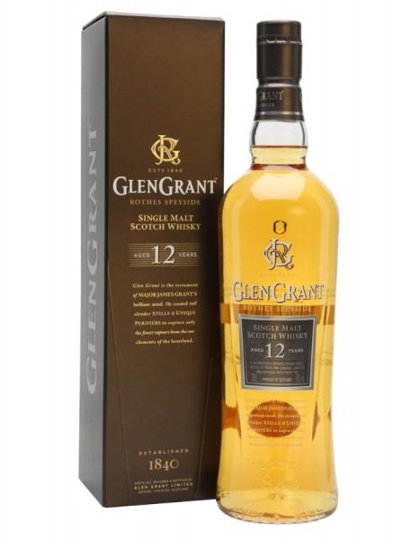GLEN GRANT 12 ANOS 0.70L. - Malt Whisky