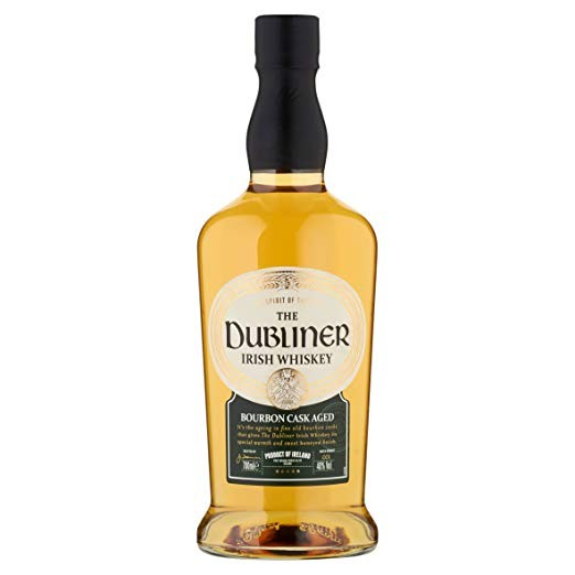 DUBLINER IRISH WHISKY BOURBON CASK AGED 0.70 L.