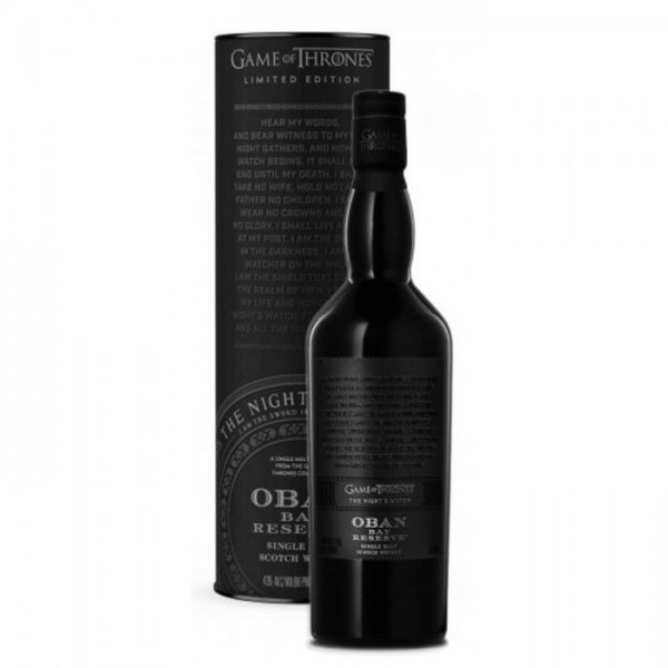 GAME OF THRONES OBAN BAY RESERVE THE NIGTH WATCH 0.70 L. - Malt Whisky