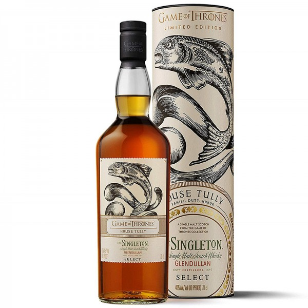 GAME OF THRONES SINGLETON GLENDULLAN HOUSE TULLY 0.70 L.