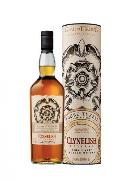 GAME OF THRONES CLYNEDISH RESERVE HOUSE TYRELL 0.70 L. - Malt Whisky