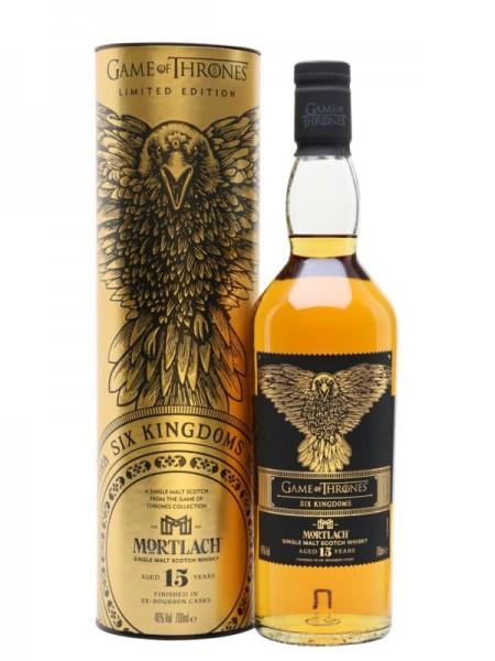 GAME OF THRONES MORTLACH 15 AÑOS SIX KINGDOMS 0.70 L. - Malt Whisky