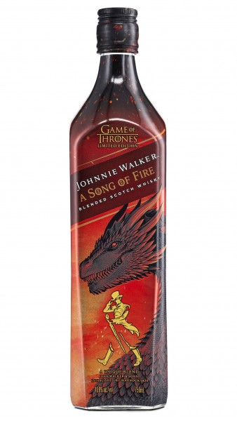 JOHNNIE WALKER A SONG OF FIRE 0.70 L.