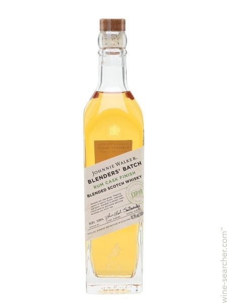 JOHNNIE WALKER RUM CASK FINISH BLENDERS BATCH 0.50 L - Scotch Whisky