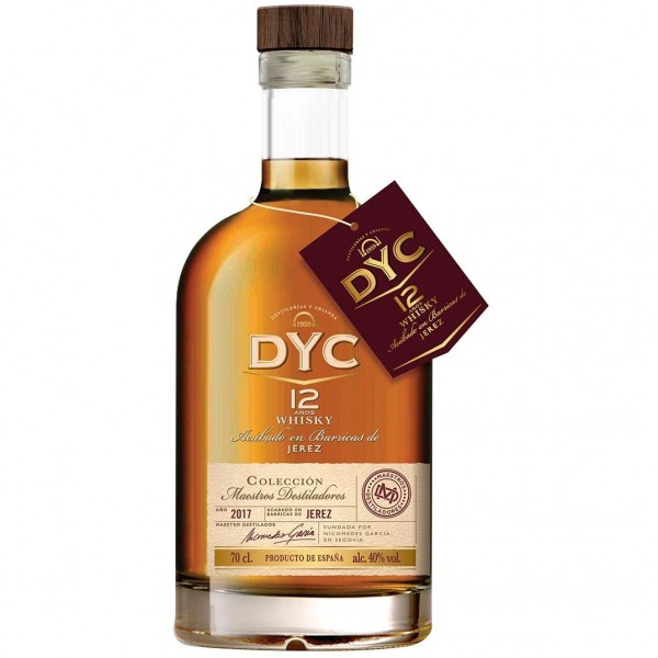 DYC 12 AÑOS 0.70 L.