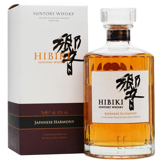 SUNTORY HIBIKI HARMONY 0.70 L.