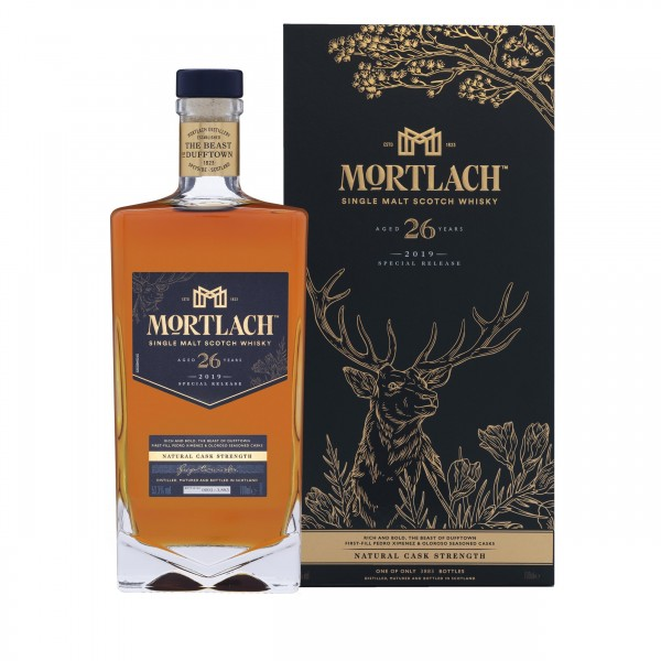 MORTLACH 26 AÑOS CASK STRENGTH SPECIAL RELEASES 2019 0.70 L