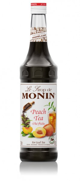 MONIN SIROP PEACH TEA 0.70L. - Concentrado