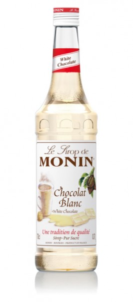 MONIN SIROP CHOCOLATE BLANCO 0.70 L. - Concentrado