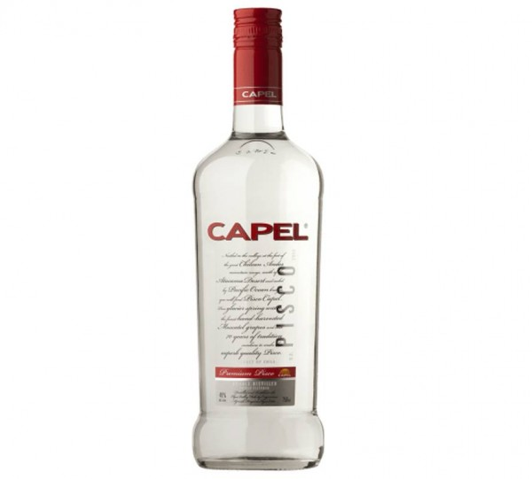 PISCO CAPEL DOBLE DESTILADO 40º 0.70 L.