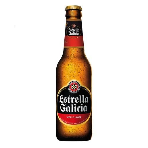 CERVEZA ESTRELLA GALICIA 0.33L. NO RETORNABLE