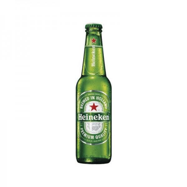 CERVEZA HEINEKEN BOTELLA 0.33L.