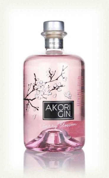 GIN AKORI CHERRY BLOSSOM 0.70 L.